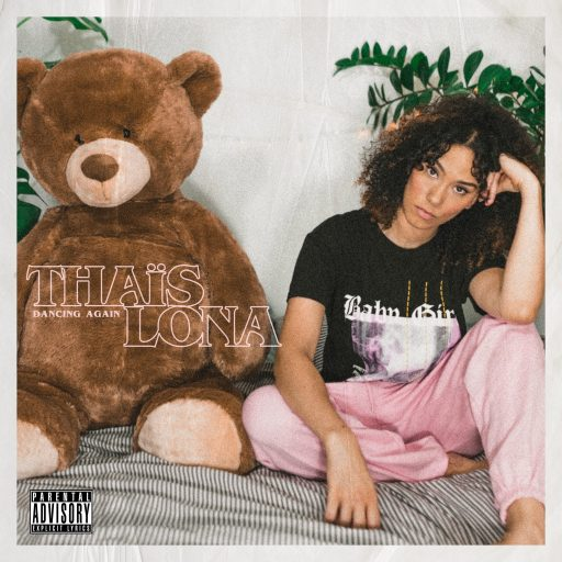 "Couverture du single ""Dancing Again"" de Thaïs Lona, chanteuse RnB/ neo-soul"
